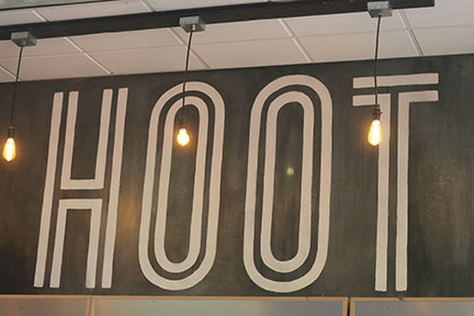 """The Hoot: """"Coffee in the front, party in the back"""""""