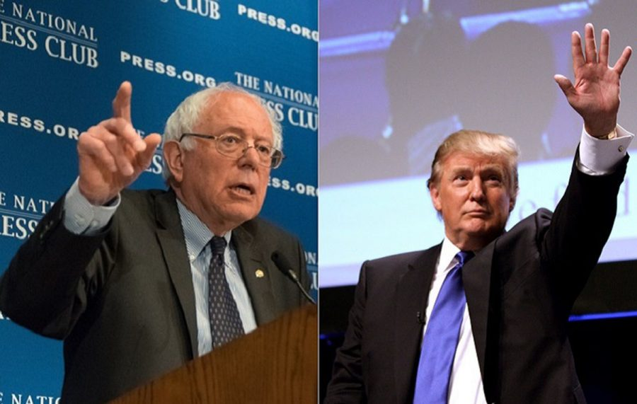 Trump and Sanders: So different, they're alike