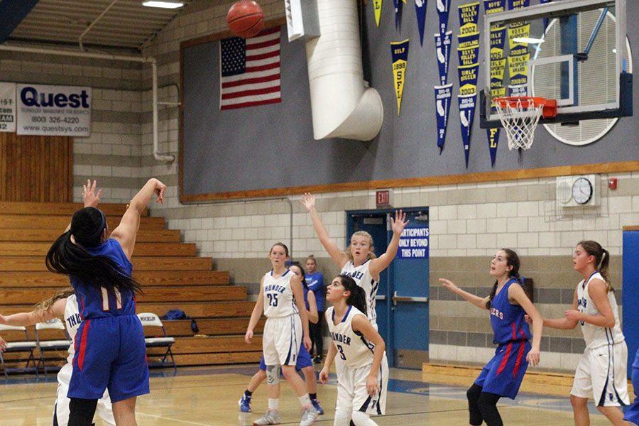 Girls end frosh basketball season
