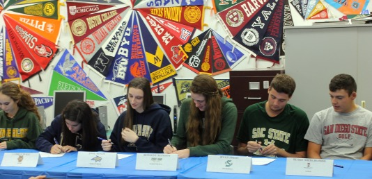 Living a Stress Free Senior year: Athletes Already Signed to Schools