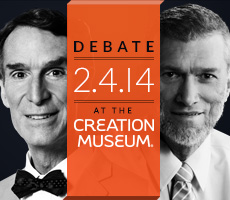 Bill Nye Debates Creationist