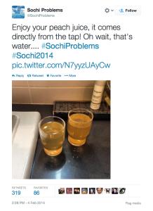 #SochiProblems
