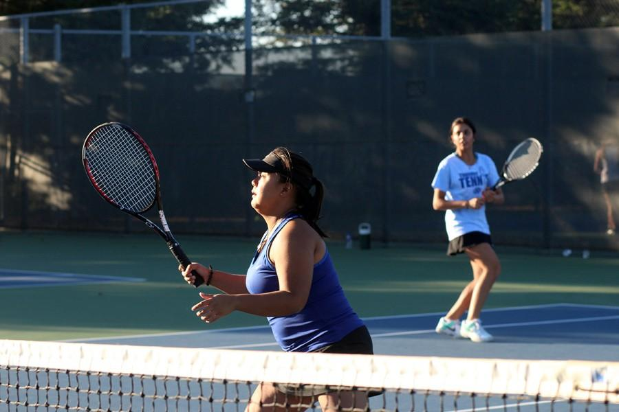 Girls' Tennis Swings into Playoffs