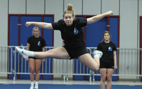 Stunt Cheer Shows Promise