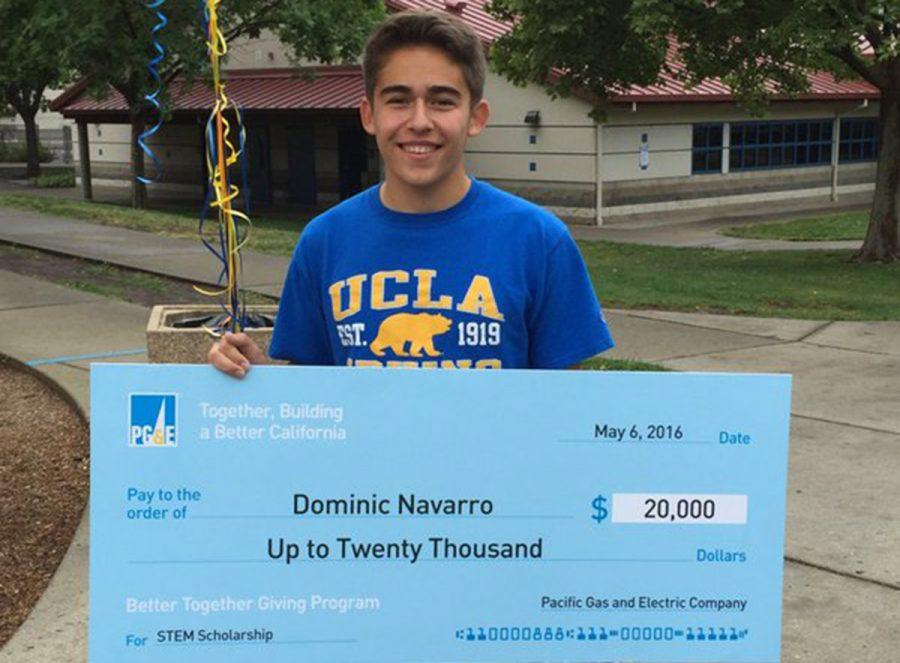 Senior Wins $20,000 Scholarship