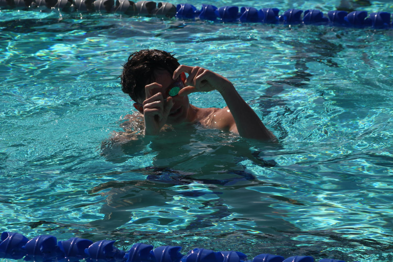 A Swimmer's Success