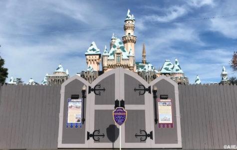 Walls in Disneyland