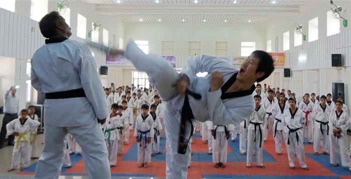 Tackling+Taekwondo
