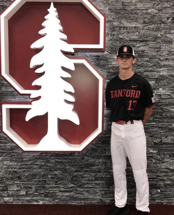 Freshman Toran O'Harran commits to playing baseball at Stanford.  Photo provided by Toran O'Harran.